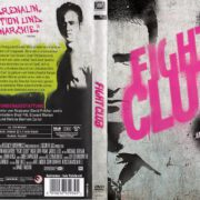 Fight Club (1999) R2 German DVD Cover & label