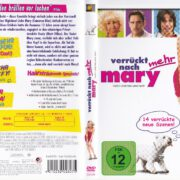 Verrückt nach (mehr) Mary (1998) R2 German DVD cover & Label