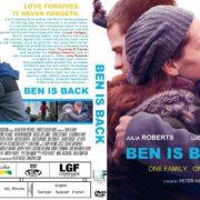 Ben Is Back (2018) R0 Custom DVD Cover