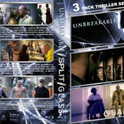 Unbreakable / Split / Glass Triple Feature R1 Custom Blu-Ray Cover