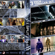 Unbreakable / Split / Glass Triple Feature R1 Custom DVD cover