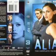 Alias – Season 3 (2005) R1 WS DVD Cover