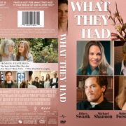 What They Had (2018) R1 Custom DVD Cover