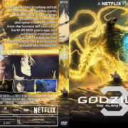 Godzilla: The Planet Eater (2018) R1 Custom DVD Cover & Label