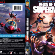 Reign of the Supermen (2019) R1 Custom DVD Cover & Label