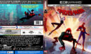 Spiderman: Into The Spider-Verse (2019) R1 CUSTOM 4K UHD Cover