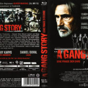 A Gang Story (2011) R2 German Blu-Ray Cover & Label