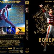 Bohemian Rhapsody (2018) R1 CUSTOM Blu-Ray Cover