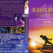 Bohemian Rhapsody (2018) R1 Custom DVD Cover & Label