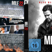 Mile 22 (2018) R2 German Custom Blu-Ray Covers & Label