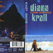 Diana Krall: Live In Rio (2009) R1 Blu-Ray Cover & Label