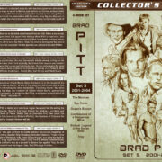 Brad Pitt Filmography – Set 5 (2001–2004) R1 Custom Covers