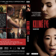 Killing Eve – Season 1 (2018) R1 Custom DVD Cover & Labels