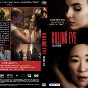 Killing Eve - Season 1 (2018) R1 Custom DVD Cover & Labels