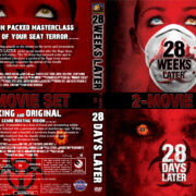 28 Weeks Later/28 Days Later R1 CUSTOM DVD Cover & Labels