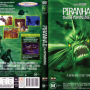 Piranha II: The Spawning (1981) R4 DVD Cover & Label