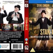 Stan & Ollie (2018) R2 CUSTOM Blu-Ray Cover