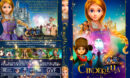 Cinderella and the Secret Prince (2018) R1 Custom DVD Cover & Label