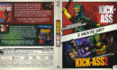 Kick Ass -2 Movie Set- (2016) R2 German Blu-Ray Covers & Labels