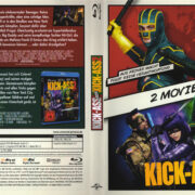 Kick Ass -2 Movie Set- (2016) R2 German Blu-Ray Covers & Labels