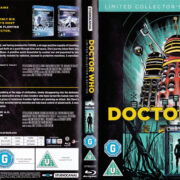 Doctor Who & The Daleks / Daleks's Invasion Earth 2150 A.D. (1966) R2 Blu-Ray Cover & Labels
