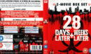 28 Days Later + 28 Weeks Later (2008) WS R2 Blu-Ray Cover & Labels