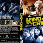 King Of Crime (2019) R0 Custom DVD Cover