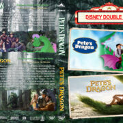 Pete's Dragon Double Feature (1977-2016) R1 Custom DVD Cover
