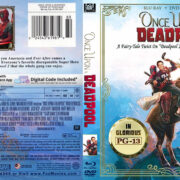 Once Upon A Deadpool (2018) R1 CUSTOM Blu-Ray Cover