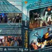 Pacific Rim Double Feature R1 Custom Blu-Ray Cover