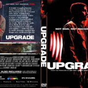 Upgrade (2018) R0 Custom DVD Cover
