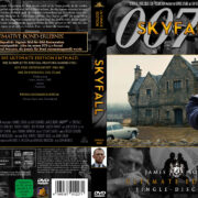 James Bond 007 – Skyfall (2012) R2 German Custom Cover