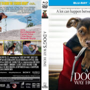 A Dog's Way Home (2019) R1 CUSTOM Blu-Ray Cover