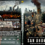 San Andreas (2015) R2 German Custom Cover