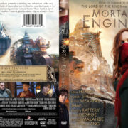 Mortal Engines (2018) R1 Custom DVD Cover