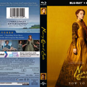 Mary Queen Of Scots (2019) R1 CUSTOM Blu-Ray Cover