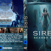 Siren: Season 2 (2019) R0 Custom DVD Cover