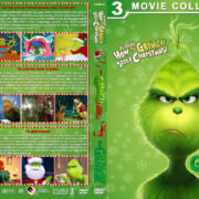 The Grinch Triple Feature R1 Custom Cover