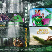 Pete's Dragon Double Feature R1 Custom Cover