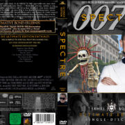 James Bond 007 - Spectre (2015) R2 German Custom Cover