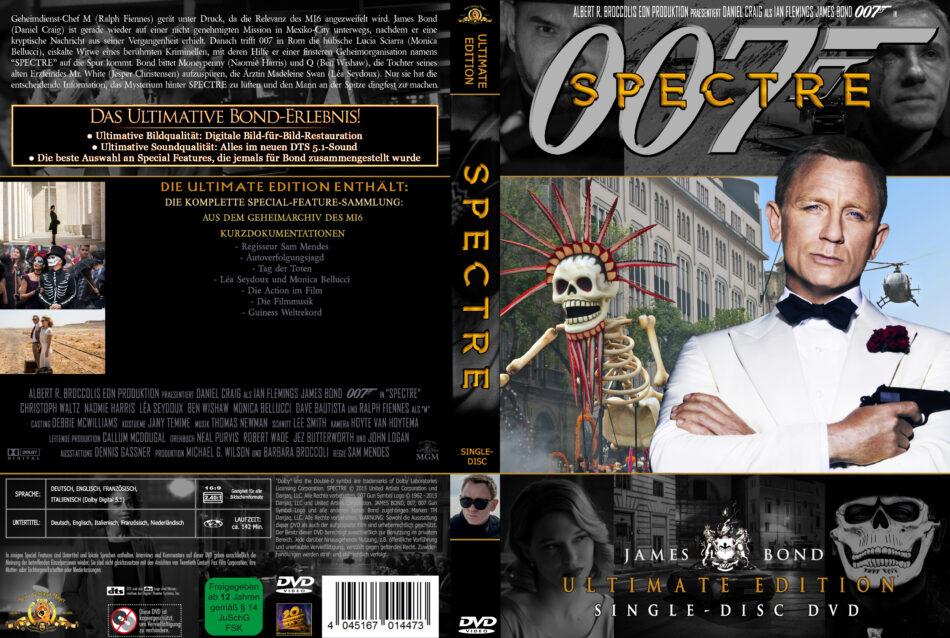 James Bond 007 Spectre 2015 R2 German Custom Cover