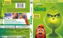 The Grinch (2018) R1 Custom Blu-Ray Cover