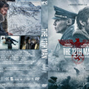 The 12th Man (2017) R1 Custom DVD Cover & label
