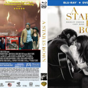 A Star Is Born (2018) R1 CUSTOM Blu-Ray Cover