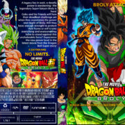 Dragon Ball Super: Broly (2018) R1 Custom DVD Cover