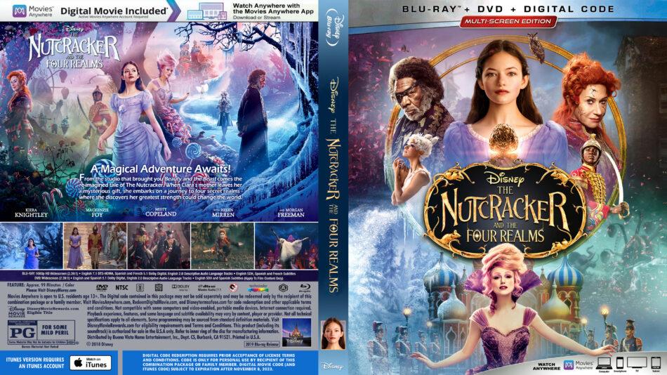 The Nutcracker And The Four Realms 2018 R1 Custom Blu Ray Cover Dvdcover Com