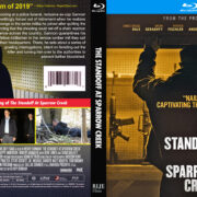 The Standoff At Sparrow Creek (2018) R1 CUSTOM Blu-Ray Cover
