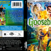 Goosebumps 2: Haunted Halloween (2018) R1 4K UHD Cover