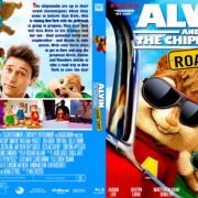 Alvin And The Chipmonks Road Chip (2015) R1 Custom Blu-Ray Cover & Label