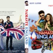 Namaste England (2018) R0 Custom DVD Cover